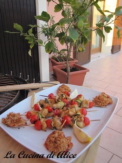 La cucina di alice spiedini di trota al bbq - Cucina di alice ...