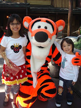 Tori and Christian with Tigger