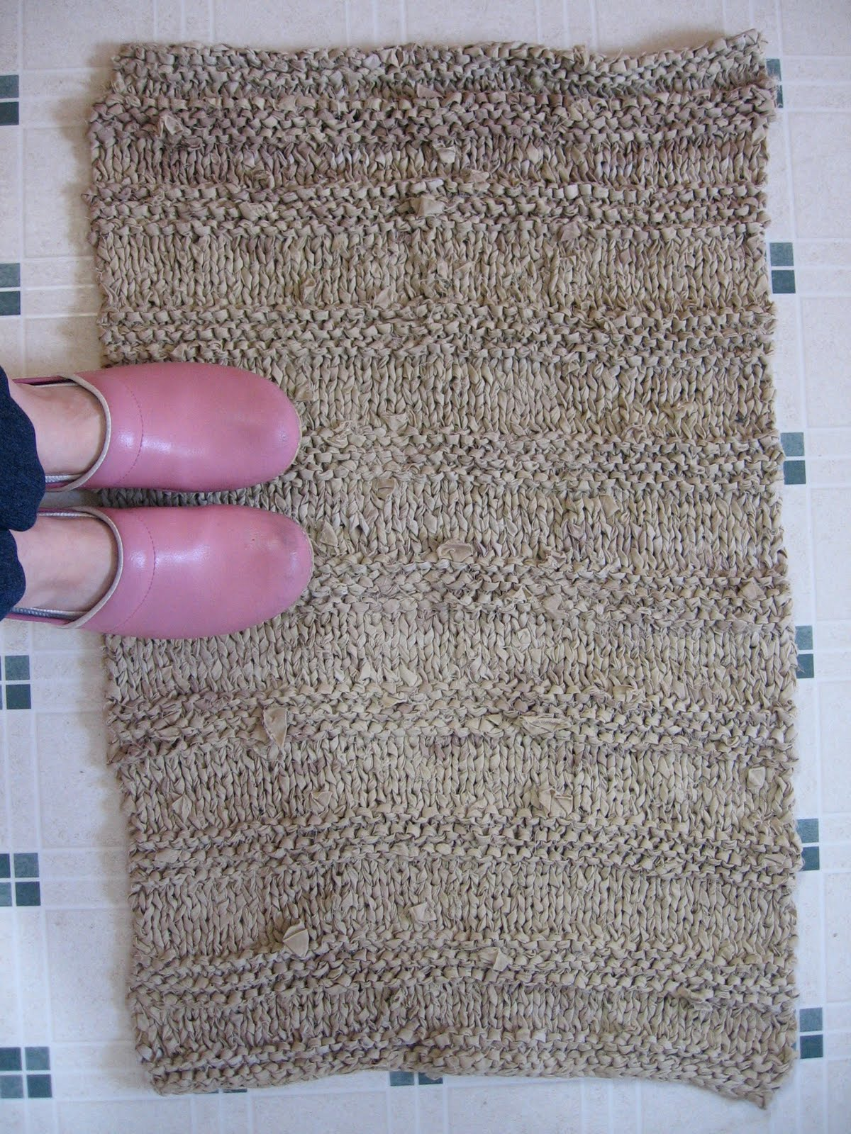 how to make a rug thicker