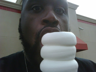shaquille oneal at dairy queen