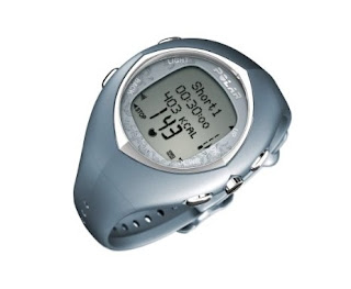 Polar F11 Women's Heart Rate Monitor Watch (Blue Glow, New Design)