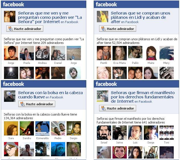 Sabes por que dejé Facebook?? por esto.....