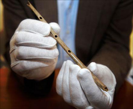 flauta de hueso