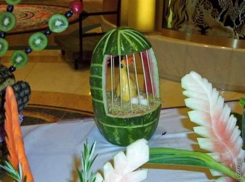 Las mejores imágenes hechas con frutas y verduras