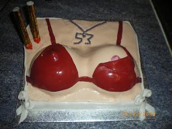Sexy cake.
