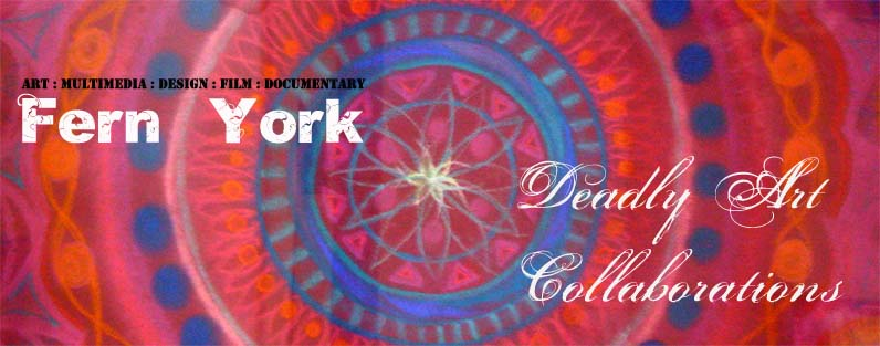 Fern York and Deadly Art Collaborations