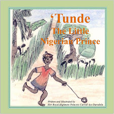 "Cover of the first ""Tunde"" book"