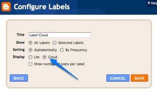 Label Cloud