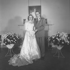 Velna and Dwight Wedding December 1952