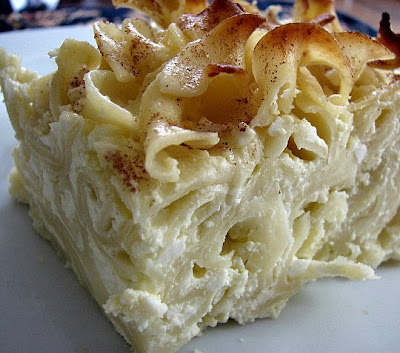 How To Cook A Wolf: Lokshen Kugel...Noodle Pudding