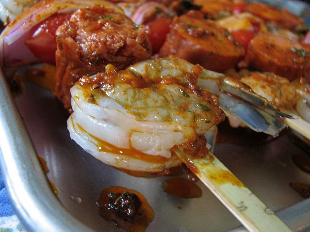 Smoky Paprika Shrimp Skewers Recipe — Dishmaps