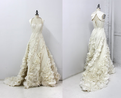 Site Blogspot  Custom Wedding Dresses on Taking Her After Project Runway This Custom Wedding Dress She Created