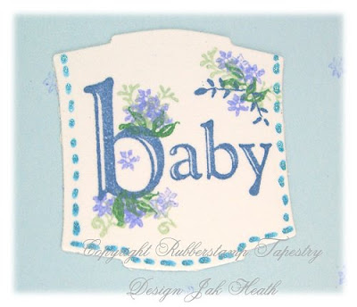 Baby  on Jak Heath Com  Oh Baby   Rubber Stamp Tapestry