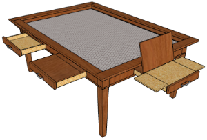 Awesome The Emissary Custom Dining/gaming Table. When I Spotted An Array Of Custom  Tables At Anaheim Comic Con Saturday, It Was All I Could Do Not To Drop My  ...