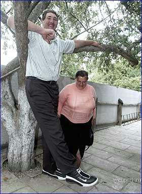 World Tallest Man 2.57m M2