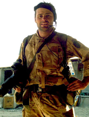 Corporal Bryan James Budd, the Parachute Regiment