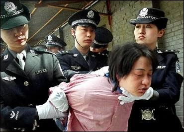 Execution of women in China - 2001
