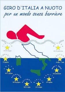 giro d'italia a nuoto logo