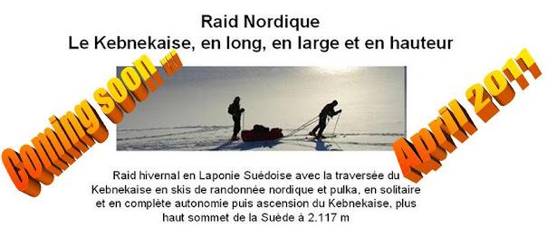 Raid Nordique en ski-pulka à travers la Laponie sur plus de 100 km