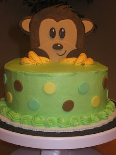 of the monkey baby shower cake i 39 ve done in the past chocolate cake