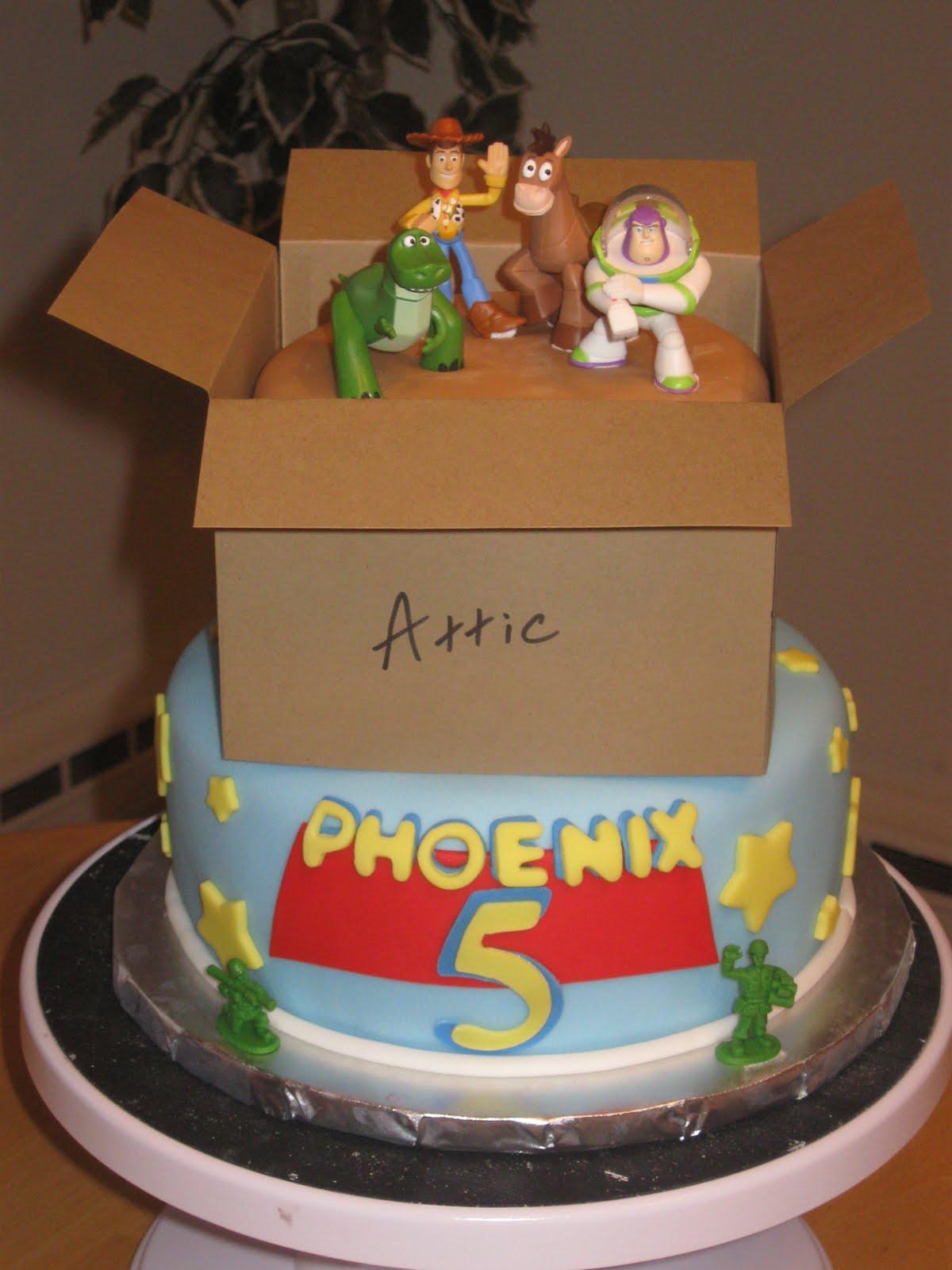 Birthday Cake Toy : Cakes by becky toy story cake