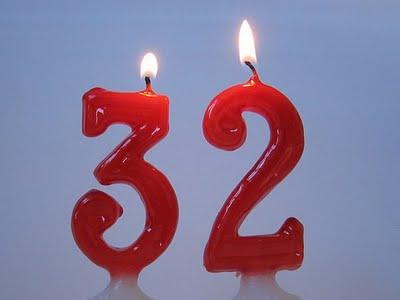 картинки 32 года с днем рождения