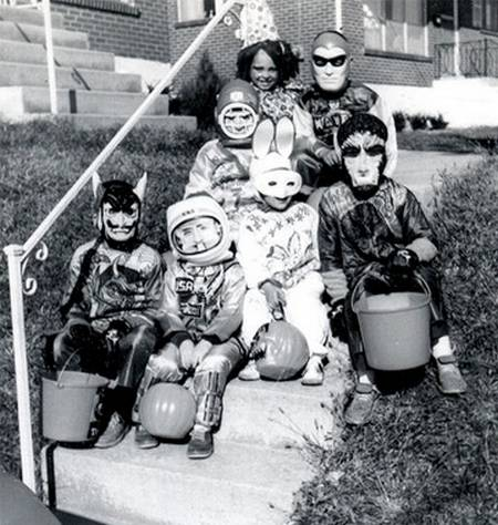 Is It Fake Norman Rockwell Or Is It >> Cheeky Cognoscenti: In Defense of Halloween, an American Cultural Celebration for Children