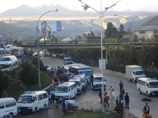 Frío en El Alto