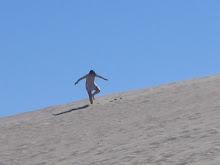 Sand Board en Las Grutas