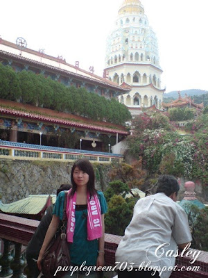 Mei at Kek Lok Si Temple