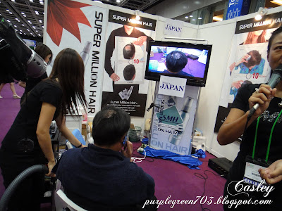 Hair care products @ Beauty Expo Malaysia KL Convention Centre