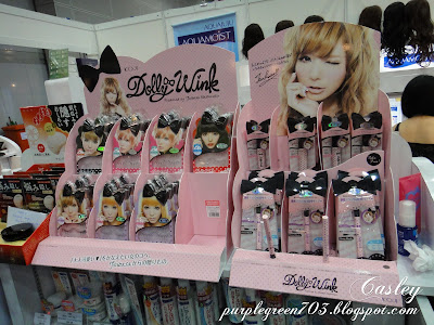 Dollywink eyelashes products sold in Beauty Expo Malaysia KLCC