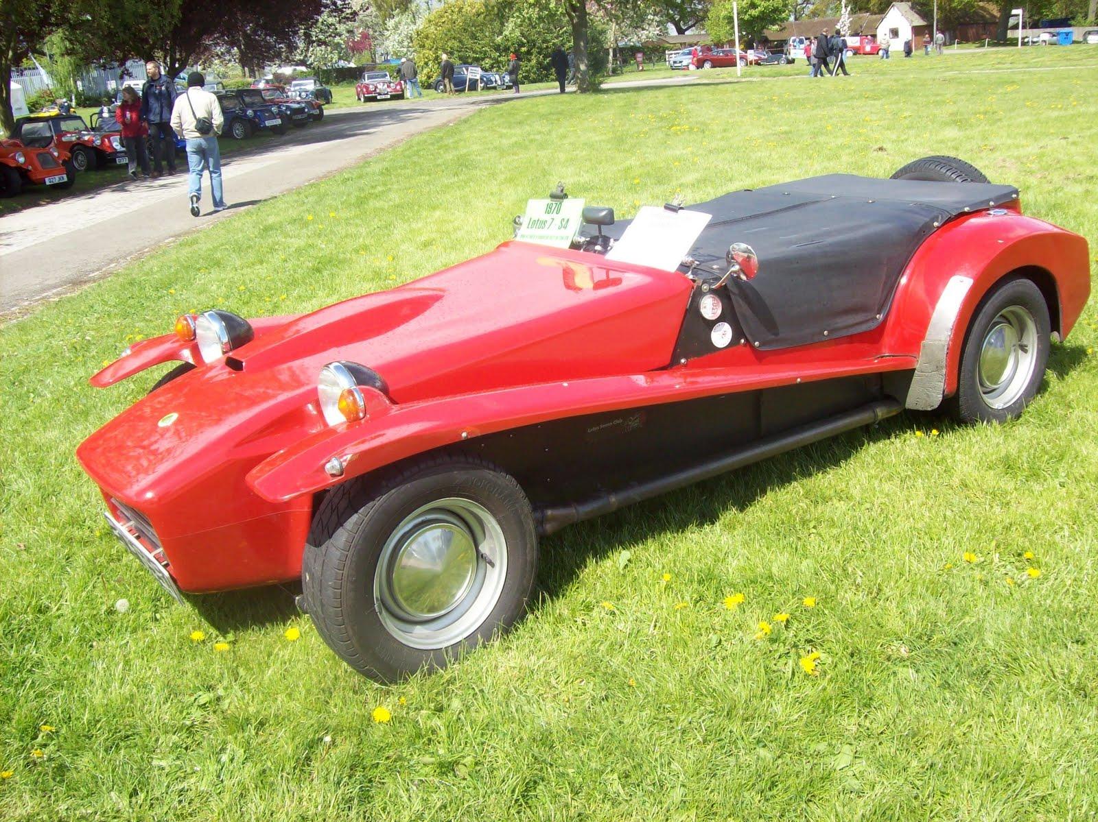 An original Lotus Seven