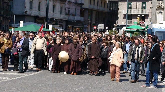 Meditazione Camminata al Centro di Napoli 29 marzo 2008