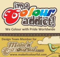 I loved being part of the 'Make It Colourful' DT