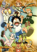 Mugiwara Pirates when they were young