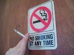 Fumar es un crimen