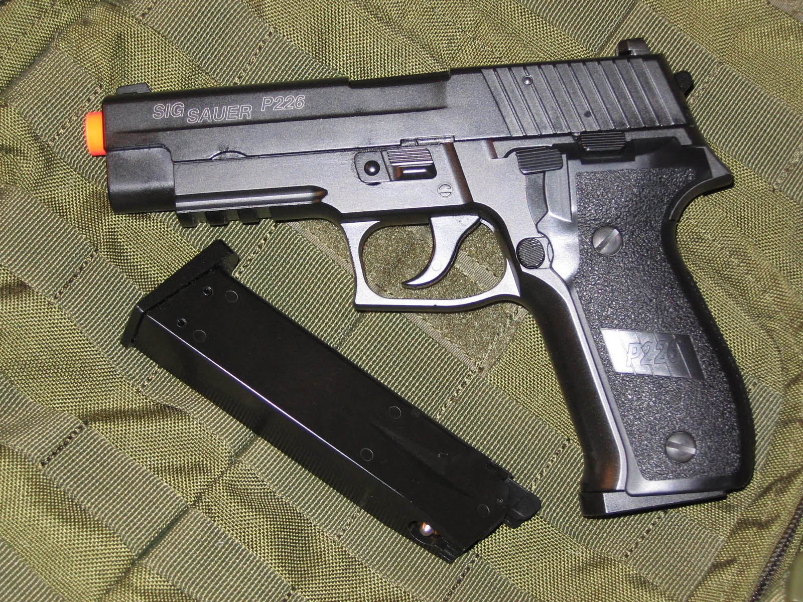 pyramyd airsoft blog review kjw sig sauer p226
