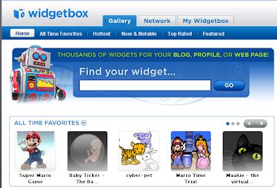 Teen Blog Widget WidgetBox