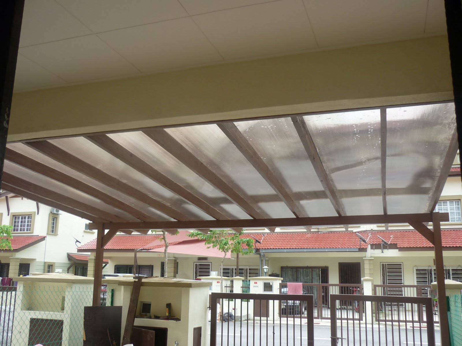 INDAH CAHAYA ENTERPRISE Renovation Plaster Ceiling Pergola Roof Kitchen