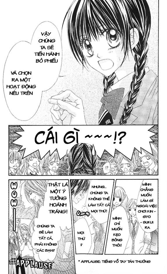 Kyou, Koi Wo Hajimemasu - Mộng Mơ đầu đời Chap 3 Trang 4