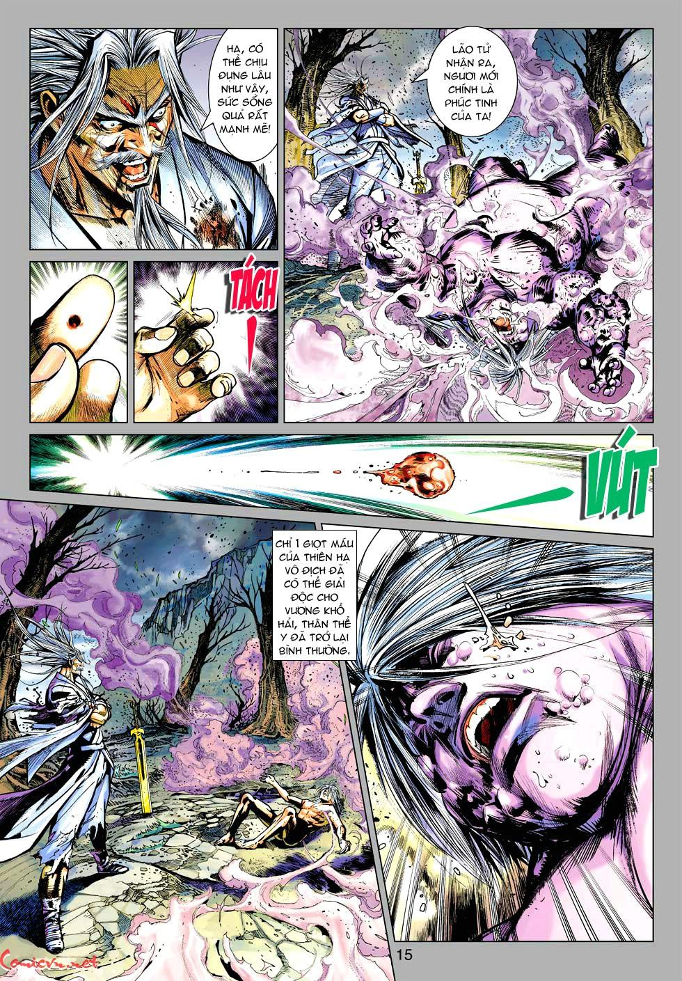 Vương Phong Lôi 1 chap 38 - Trang 13