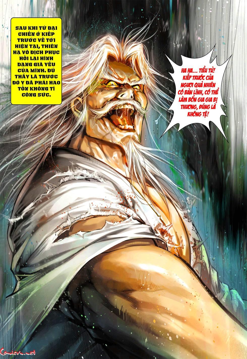 Vương Phong Lôi 1 chap 38 - Trang 12