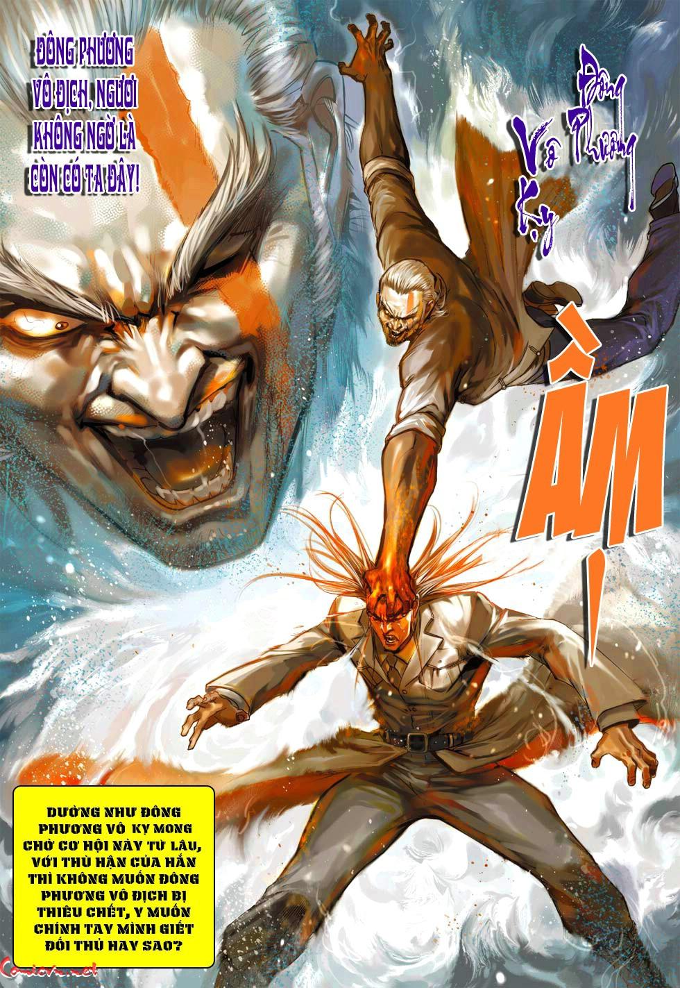 Vương Phong Lôi 1 chap 38 - Trang 27