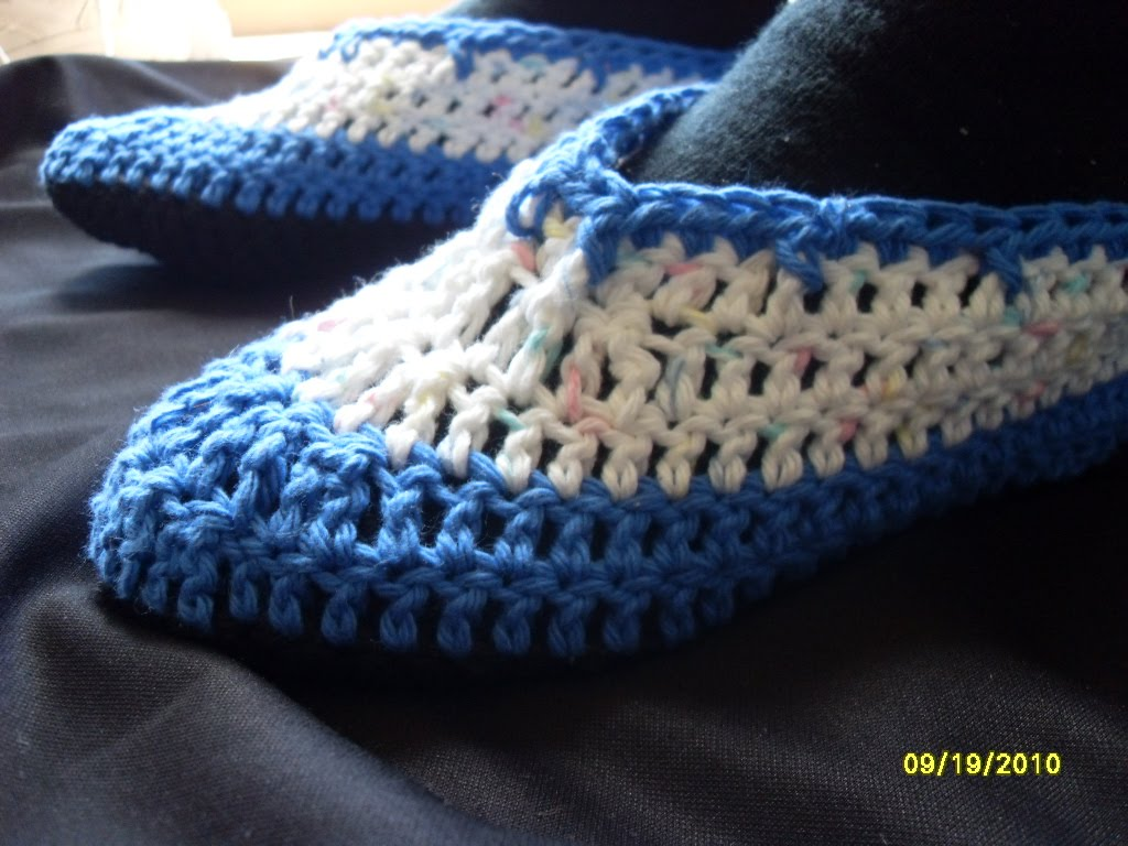 How Do I Crochet Slippers? - wiseGEEK: clear answers for common