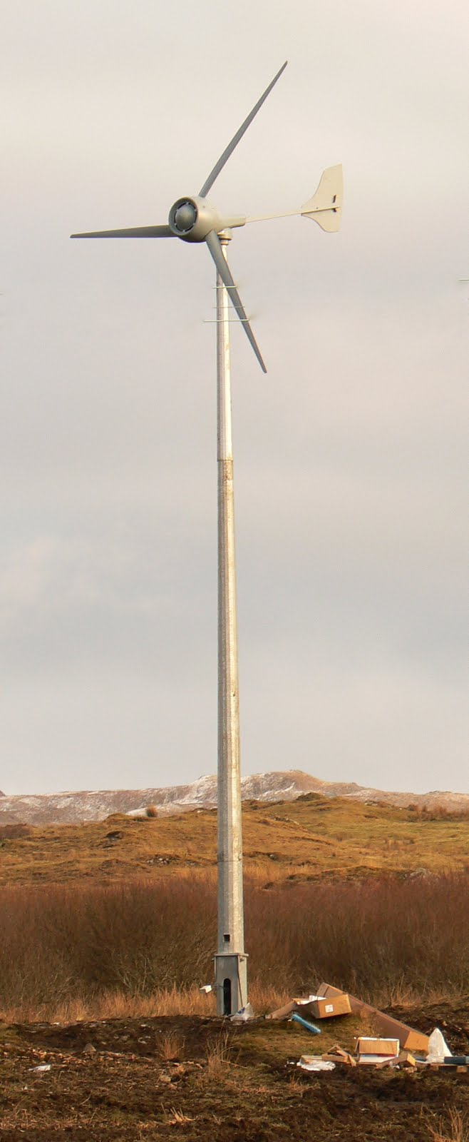 how to build a small wind turbine