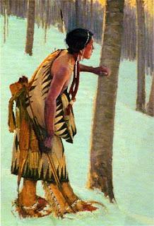Cacciatore indiano ritratto da Philip Bert Geer