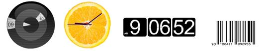 ClockLink orologi in Flash per Blogger