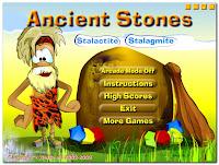 schermata menù Ancient Stones