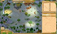 Traviani - Travians - immagine mappa di gioco
